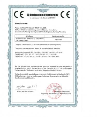 Test Rapid COVID-19 Antigen (kit 5 buc) [2]