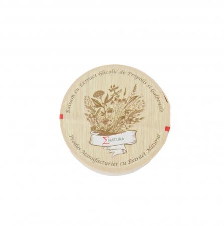 Balsam cu extract glicolic de propolis şi gălbenele, 50 ml, ∑NATURA [0]