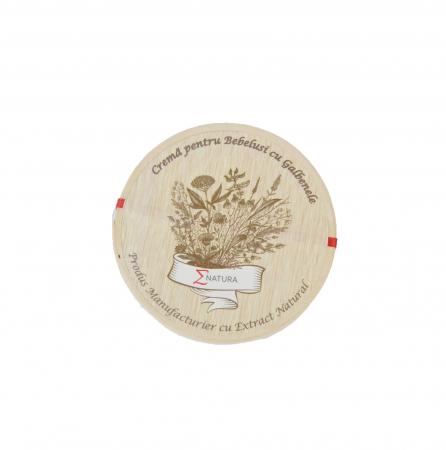 Crema pentru bebelusi ( tip Petrini ) cu extract de galbenele, ∑NATURA, 50ml [0]