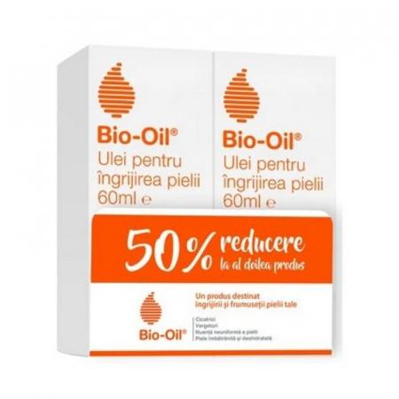 Bio-Oil Ulei pentru corp si fata, Pachet 1+1 - 50% reducere la al doilea produs [0]
