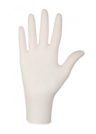 Manusi examinare si protectie latex pudrate de unica folosinta, Santex, 100 buc [1]