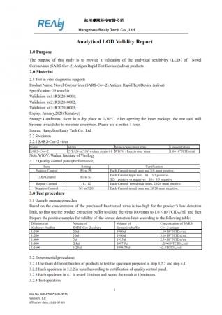 SET x 5 buc Kit Test Antigen Covid -19 rapid din saliva Realy Tech [8]