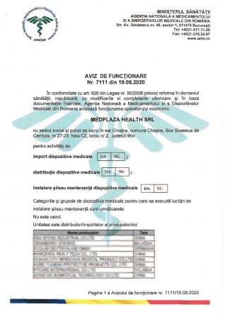 SET x 5 buc Kit Test Antigen Covid -19 rapid din saliva Realy Tech [6]