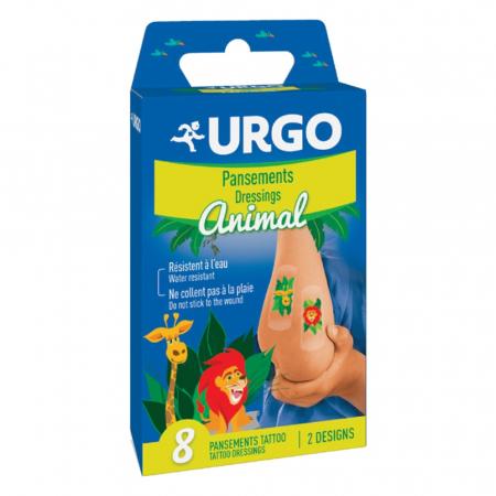 Urgo Copii Jungle Tatto x 8 plasturi [0]