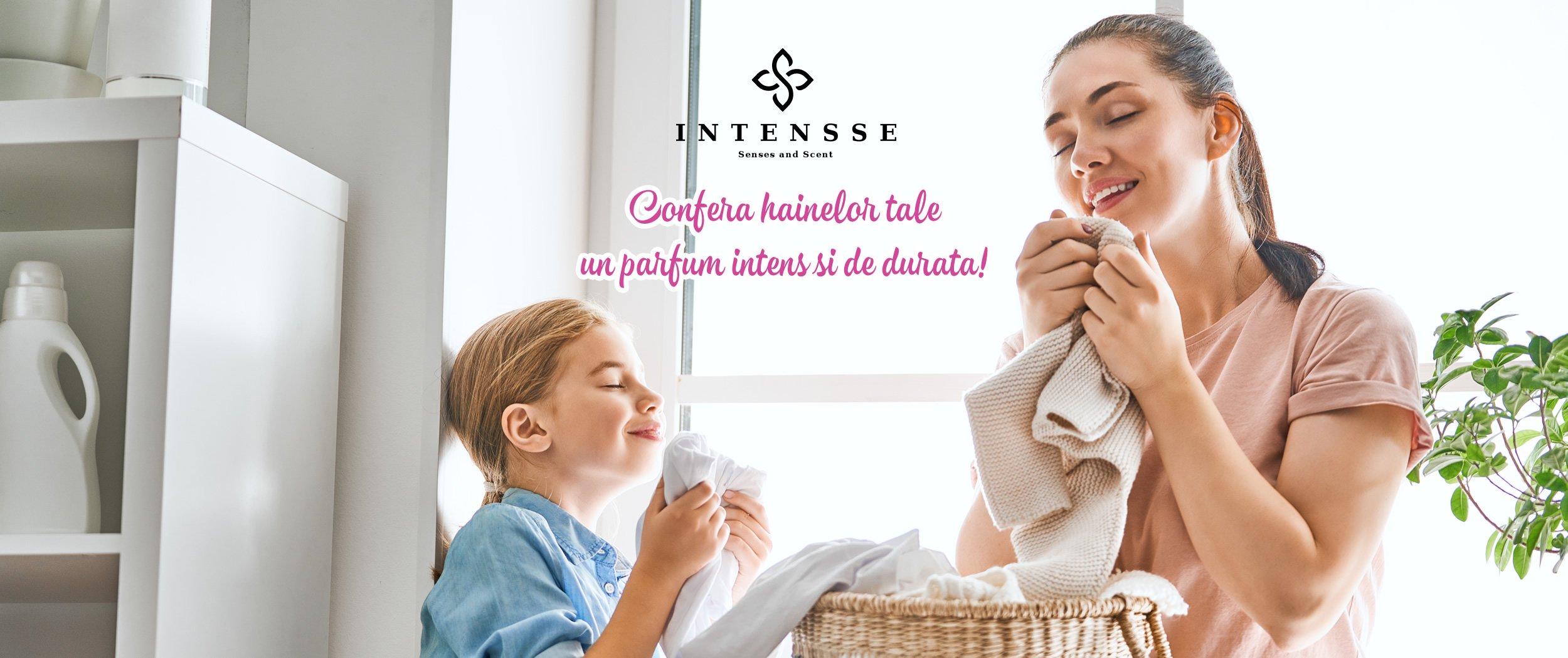 Oferă hainelor tale prospețimea primăverii cu ajutorul parfumului de rufe Intensse!