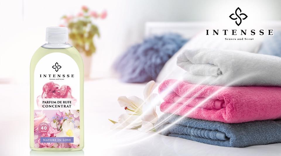 Parfumul concentrat de rufe intensse - Un produs luxuriant pentru hainele pe care le iubesti
