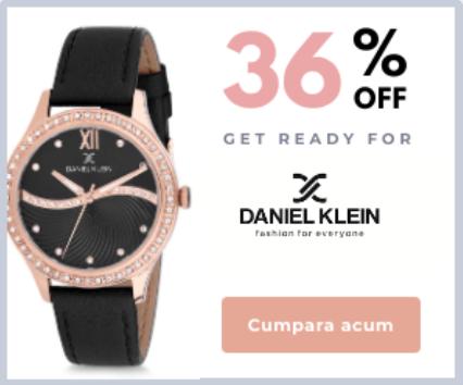 Colectia Daniel Klein  de dama cu reduceri de pana la 36%