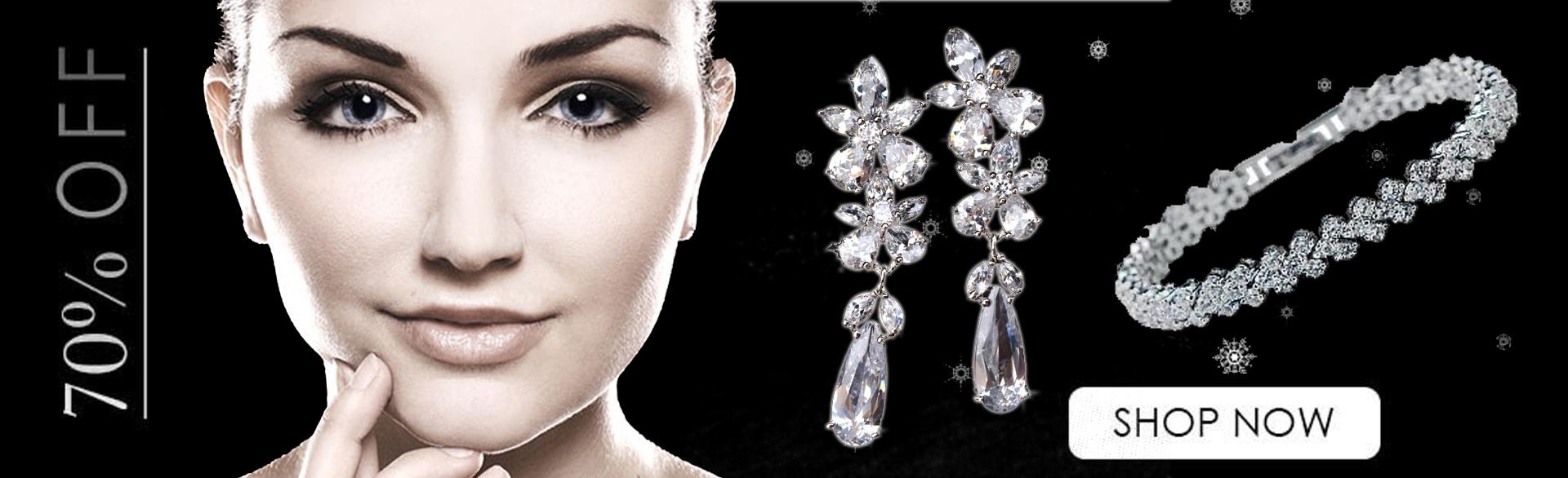 Bratari cu cristale Swarovski la 70% reducere