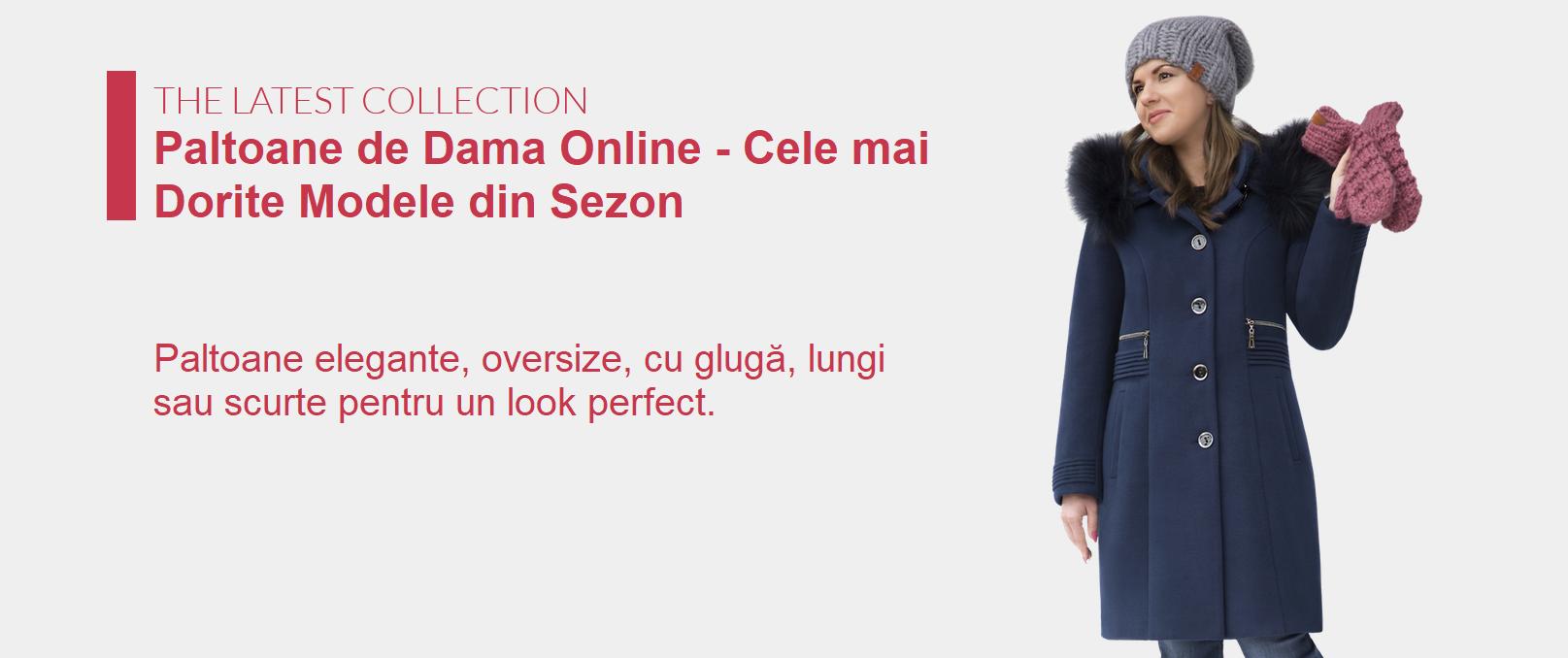 Paltoane Dama Online - Cele mai Dorite Modele din Sezon