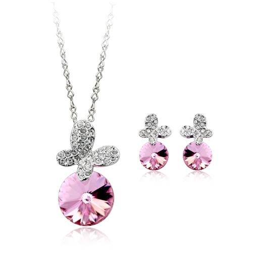Set bijuterii ANGEL DROP cu cristale swarovski 0
