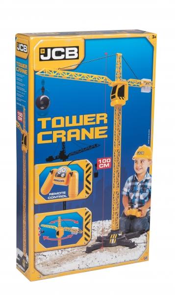 Macara cu telecomanda Radiocontrol JCB Tower Crane 100 cm 0