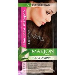 Șampon nuanțator pentru păr cu aloe Marion 53 Coffee Brown [0]