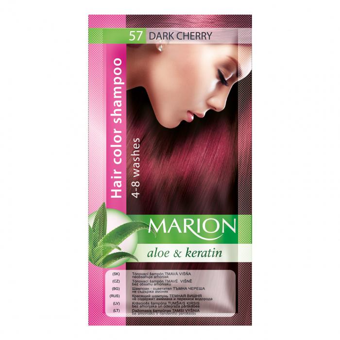 Șampon nuanțator pentru păr cu aloe Marion 57- dark cherry [0]