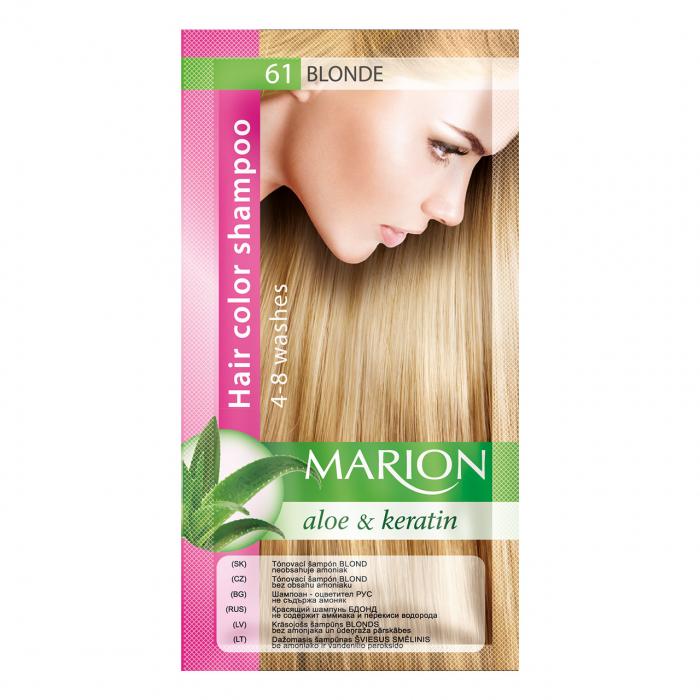 Șampon nuanțator pentru păr cu aloe Marion 61 – blonde [0]