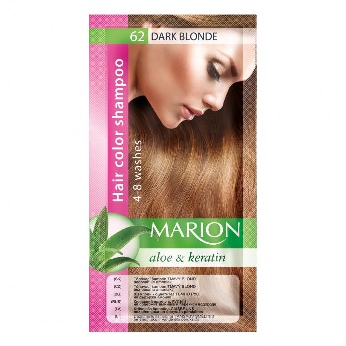 Șampon nuanțator pentru păr cu aloe Marion 62 – dark blonde [0]