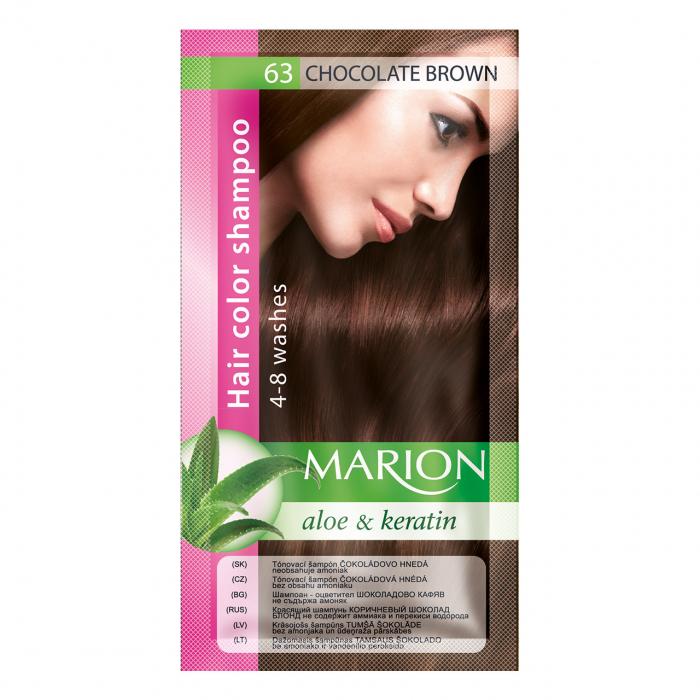 Șampon nuanțator pentru păr cu aloe Marion 63 – chocolate brown [0]