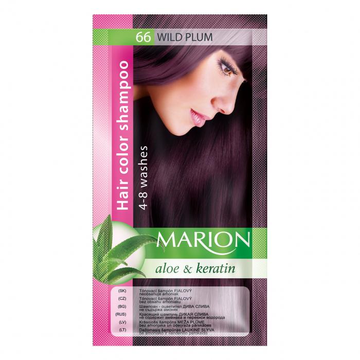 Șampon nuanțator pentru păr cu aloe Marion 66 – wild plum [0]