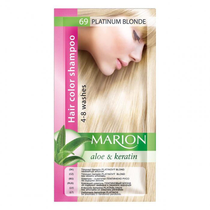 Șampon nuanțator pentru păr cu aloe Marion 69 – platinum blonde [0]