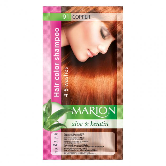 Șampon nuanțator pentru păr cu aloe Marion 91 – light copper [0]