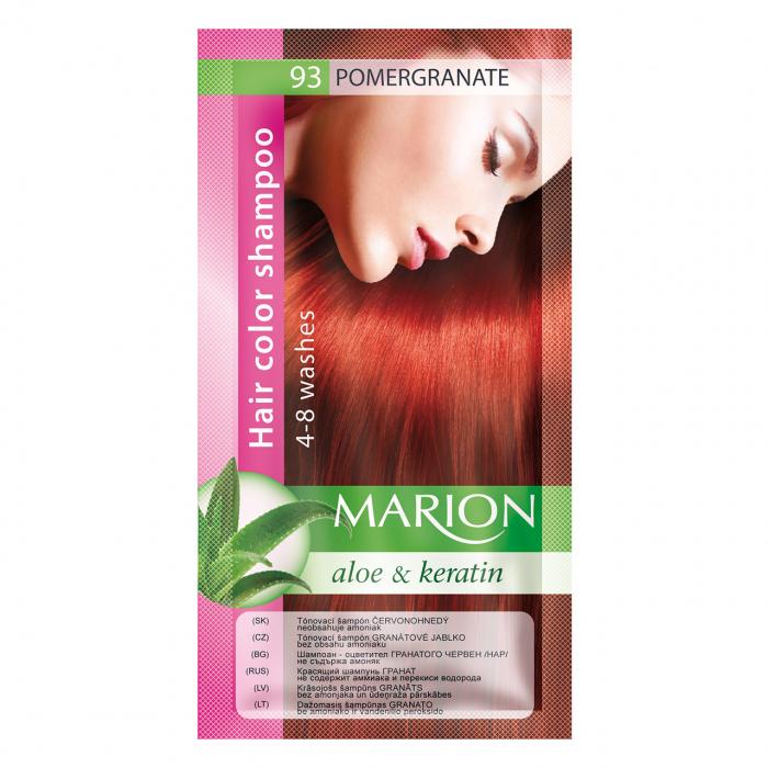 Șampon nuanțator pentru păr cu aloe Marion 93 – pomegranate [0]