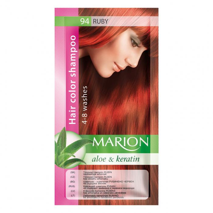 Șampon nuanțator pentru păr cu aloe Marion 94 – ruby [0]