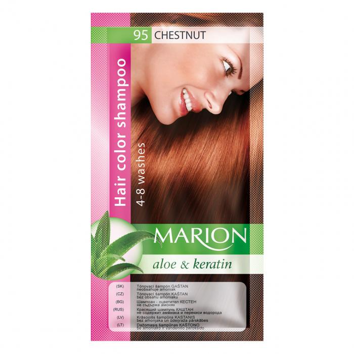 Șampon nuanțator pentru păr cu aloe Marion 95 – medium chestnut [0]