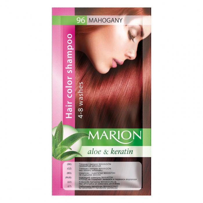Șampon nuanțator pentru păr cu aloe Marion 96 – mahogany [0]