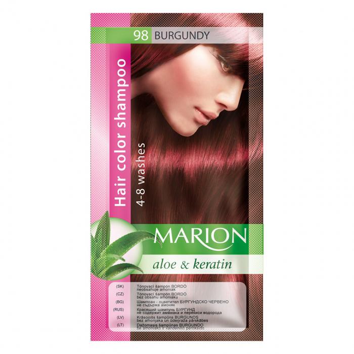 Șampon nuanțator pentru păr cu aloe Marion 98 – burgundy [0]