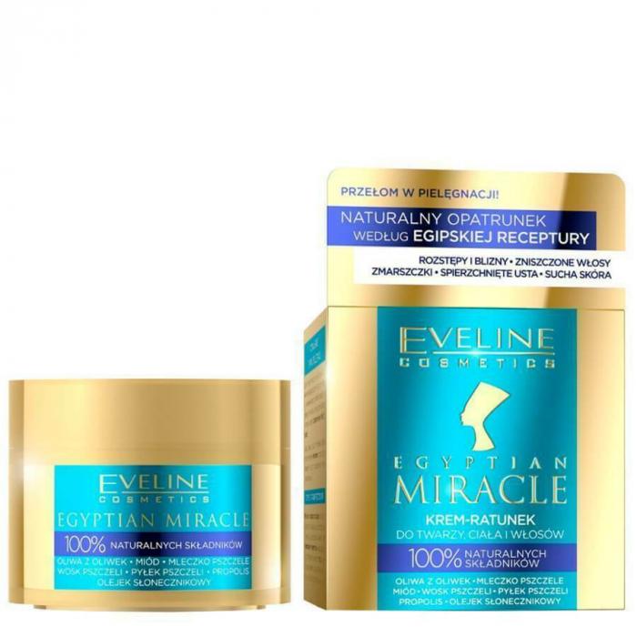 Cremă pentru față, corp și păr, Egiptean Miracle, Eveline Cosmetics [0]