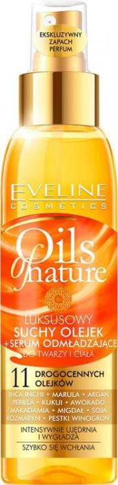 ULEI USCAT PENTRU INTINERIRE Oils Nature - Eveline Cosmetics 0