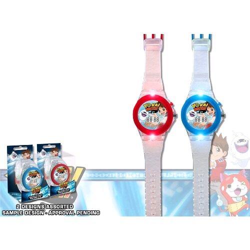 Ceas de mana digital pe LED Yo Kai Disney 0