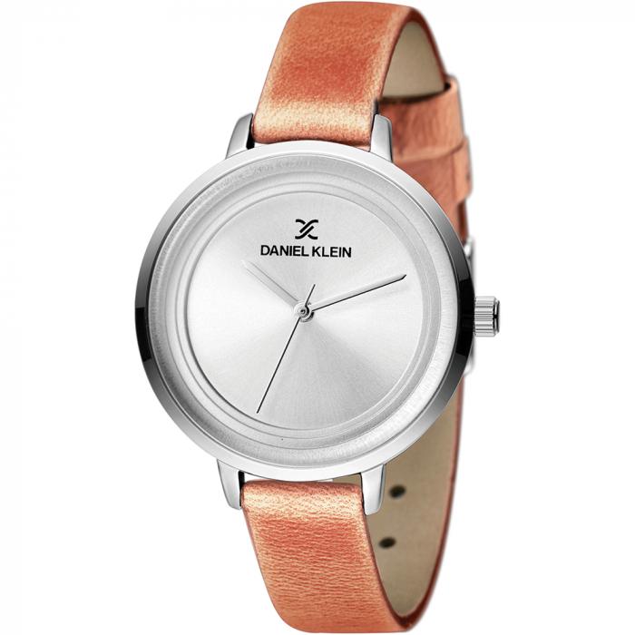 Ceas pentru dama, Daniel Klein Premium, DK11374-5, maro inchis 0