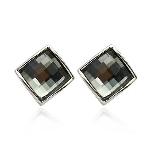 PROMO Set 3 Cercei cristale STAR Black Diamond cu reflexii, placati cu aur 18k [2]