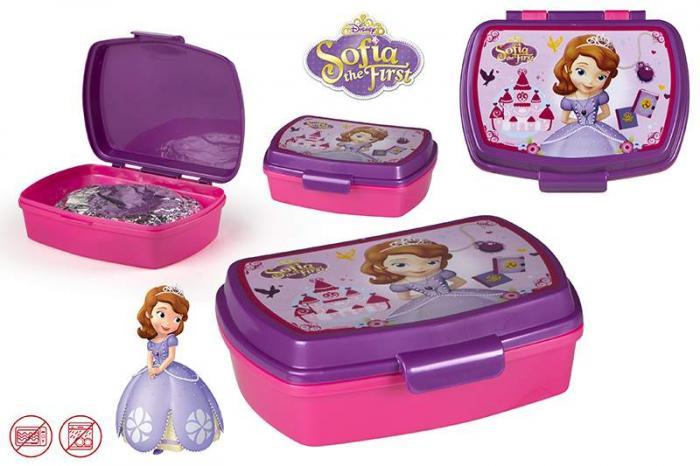 Cutie sandwich pentru copii  Sofia Gama Disney 0