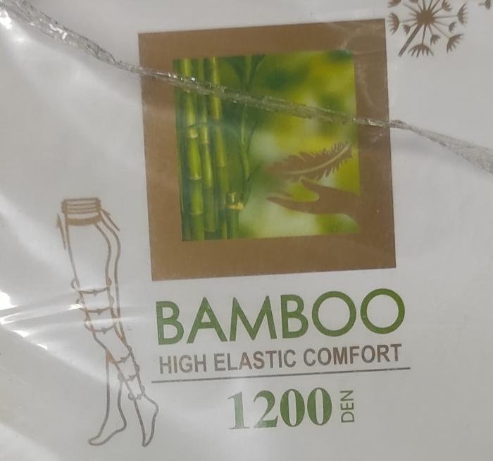 Dres dama bambus M-L, grosime 1200DEN, culoare negru, NH932 1