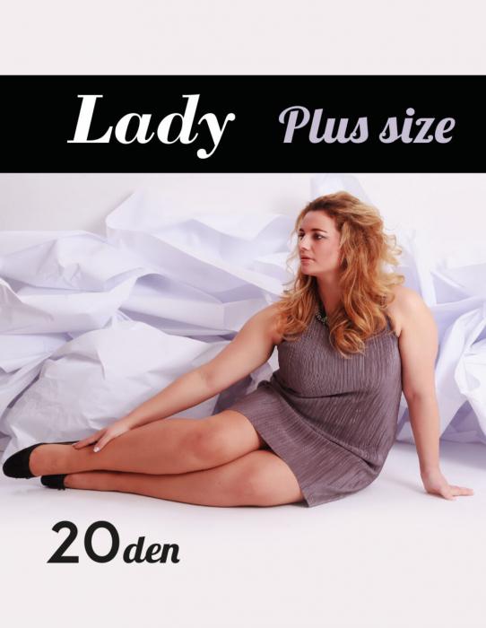 Dres de lux Plus size, talia 7, 20DEN 0