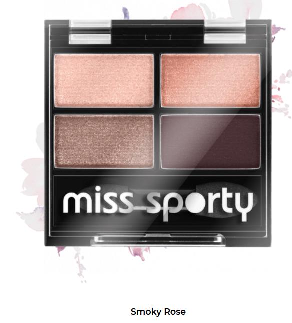 Fard de ochi Studio Color Quattro Eyeshadow Miss Sporty 408 0