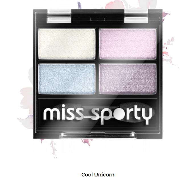 Fard de ochi Studio Color Quattro Eyeshadow Miss Sporty Cool Unicorn 415 0