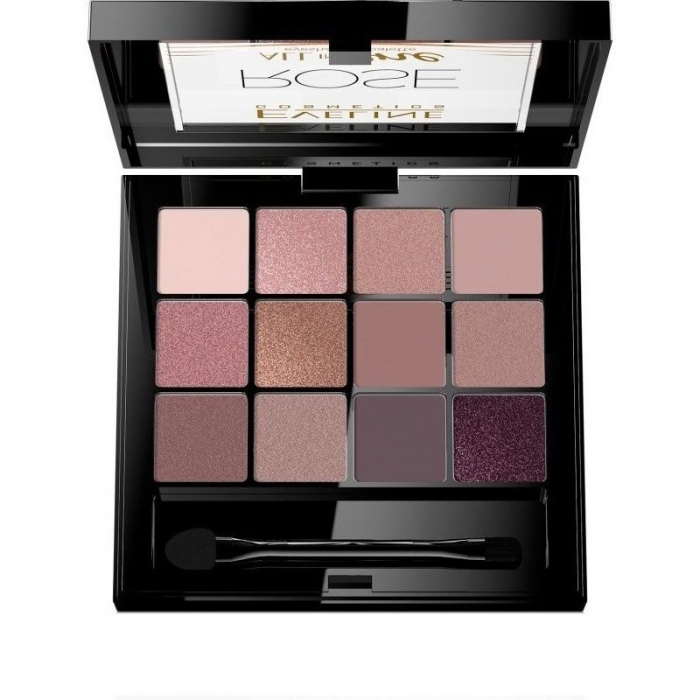 Fard de pleoape Eveline Cosmetics All in One - Rose 1