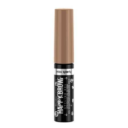 Gel pentru Sprancene MISS SPORTY Studio Lash Happy Brow, 001 Blonde, 5ml 0