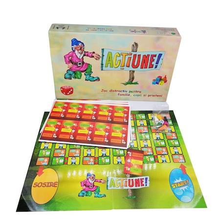 Joc de societate , Actiune!, Deimos Exim, pentru familie, copii si prieteni [0]
