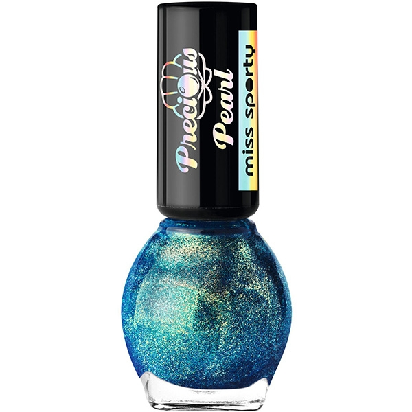 Lac de unghii MISS SPORTY Precious Pearl, 050 Turquoise Pearls, 7ml 0