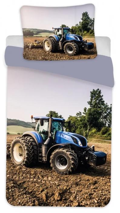Lenjerie de pat Tractor 135×200cm, 80×80 cm 0