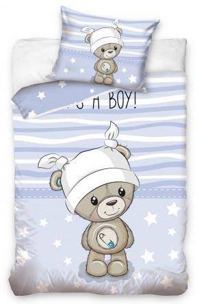 Lenjerie de pat licenta baby Bear 100×135 cm, 40×60 cm  CBX191004 0