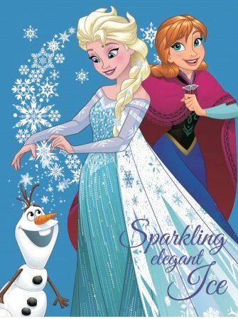 Pătură Disney Frozen pentru copii marime 120x150cm CTL69833B 0