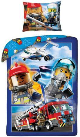 Lenjerie de pat licenta Disney Lego City marime 140×200 cm, 70×90 cm HAX045087 0