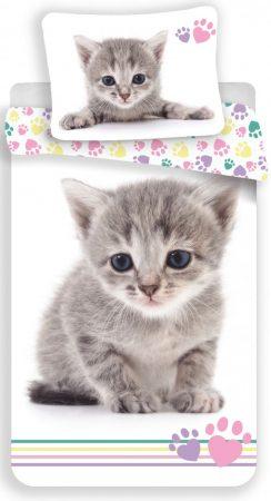 Lenjerie de pat licenta Disney Pisica marime 140×200 cm, 70×90 cm JFK022658 0