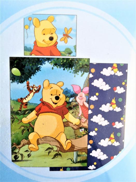 Lenjerie de pat licenta Disney Winnie the Pooh marime 140×200 cm, 70×90 cm  CTLA39526 0