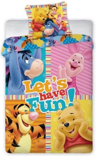 Lenjerie de pat licenta Winnie the Pooh 160x200cm 0
