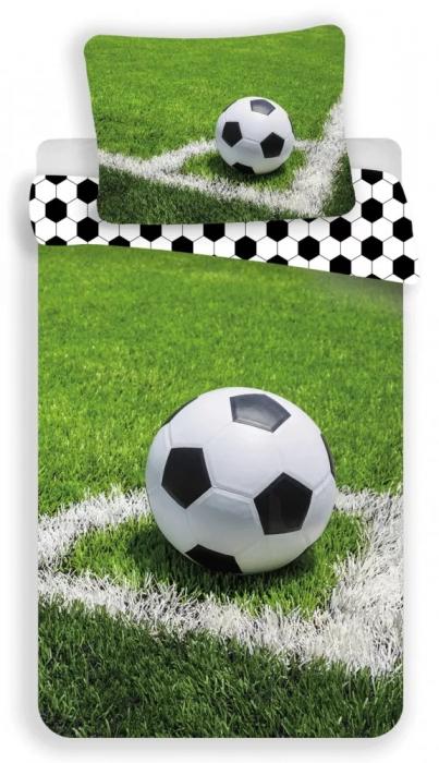 Lenjerie de pat pentru copii Fotbal 140×200cm, 70×90 cm [0]